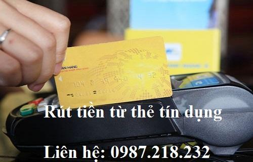 Hỗ trợ rút tiền từ thẻ tín dụng VietcomBank phí thấp nhất